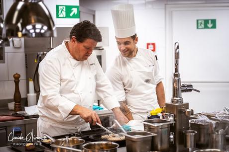 Dans les cuisines du Pérolles avec Pierrot Ayer !