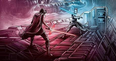 Affiche IMAX pour Star Wars : Episode IX - L'Ascension de Skywalker signé J.J. Abrams