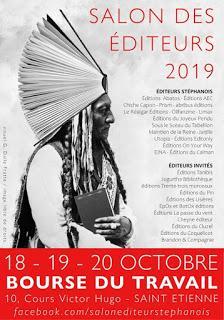 Fête du livre de Saint Étienne 2019 : pas d'ondées pour les indés...
