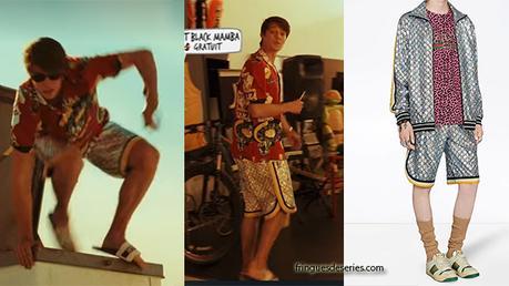 DAYBREAK : Josh's metallic shorts in s1ep01