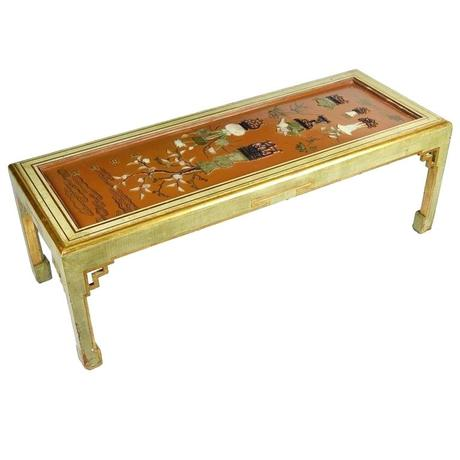 antique chinese coffee table antique lacquer panel coffee table for sale