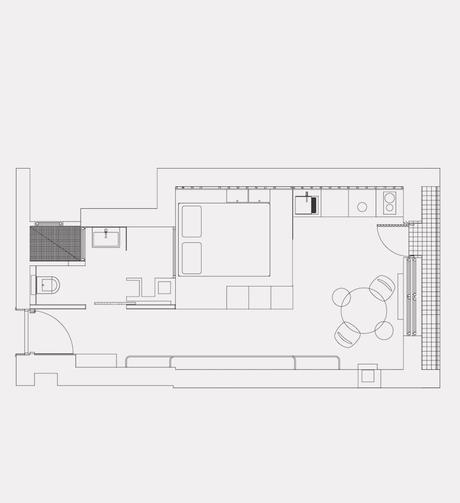 clem around the corner studio de 30m2 plan appartement cuisine aménagement petit espace