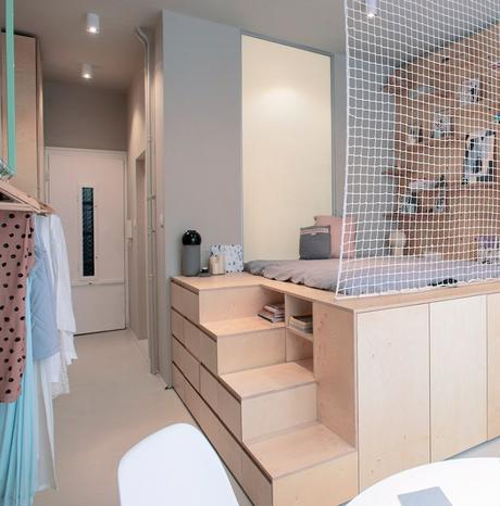 blog déco appartement chambre design moderne pastel épuré