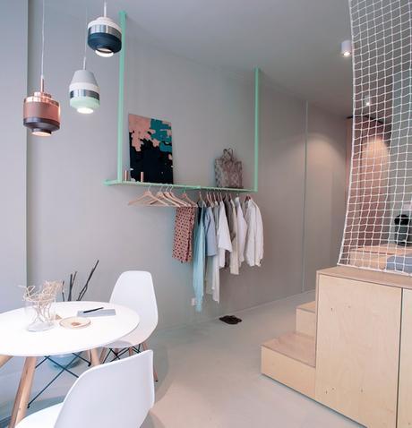 blog déco appartement hongrois voyage suspension design contemporain cuivré ambiance scandinave