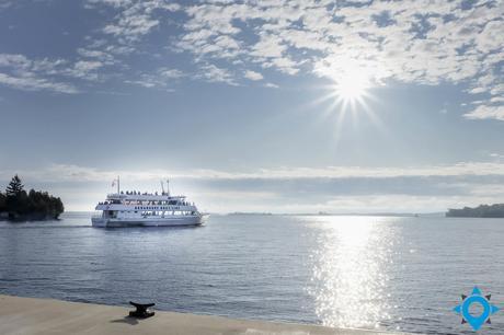 Gananoque boat line croisière mille îles