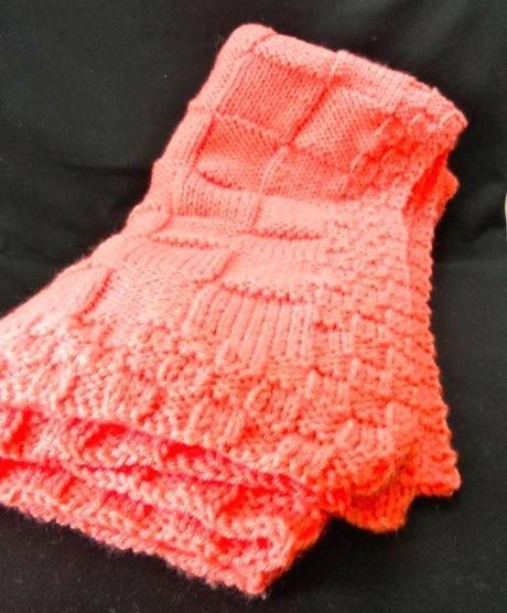 coral baby blanket bernat baby blanket yarn coral