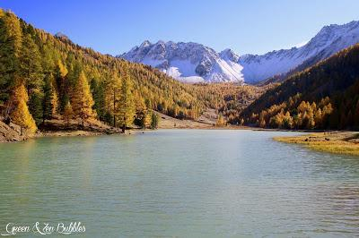 Le lac de l'Orceyrette