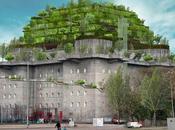 bunker nazi être transformé hôtel luxe végétalisé