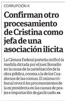 Pour Cristina: un non lieu prononcé et une incrimination confirmée [Actu]
