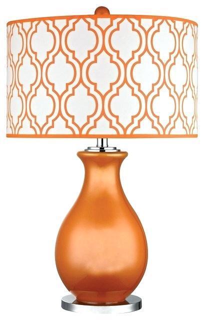 orange table lamps burnt orange table lamp uk