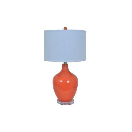 orange table lamps orange table lamp shade