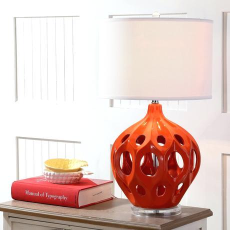 orange table lamps orange table lamp canada