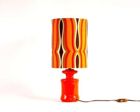 orange table lamps small orange table lamp shades