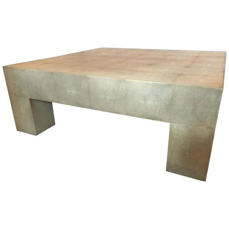linen wrapped coffee table palatial style linen wrapped coffee table for sale