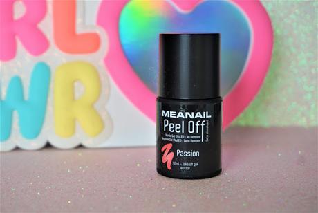 Le vernis Peel-off Meanail, le plus que parfait