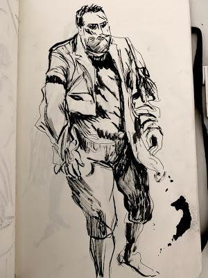 My American sketchbook