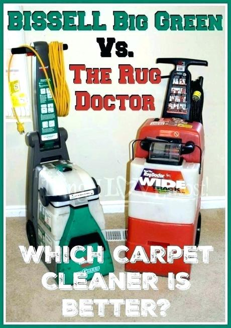 bissell big green vs rug doctor rug doctor pro deep carpet cleaner vs bissell big green