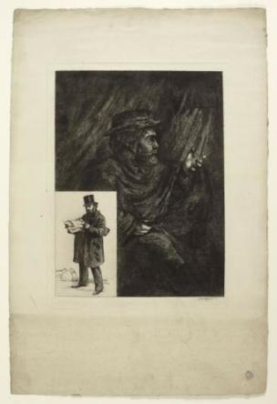 Leopold Armand Hugo double autoportrait Maison de Victor Hugo Hauteville House