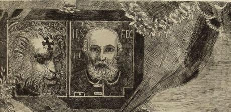Leopold Hugo pendant venitien 1883 vignettes