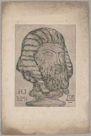 Leopold Armand Hugo Autoportrait en Sphynx 1871 Musee Rodin