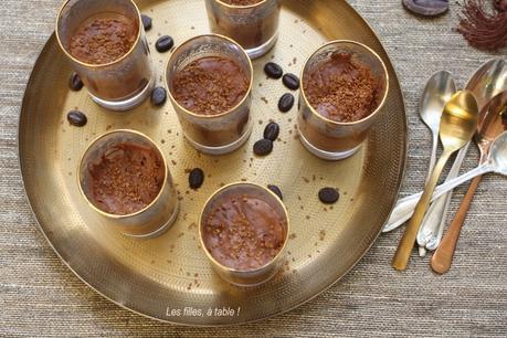 Mousse au café à l'orientale – Recettes autour d'un ingrédient #55