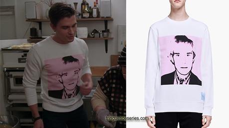 QUEER EYE : We're in Japan : le sweatshirt Andy Warhol d'Antoni dans l'épisode 1