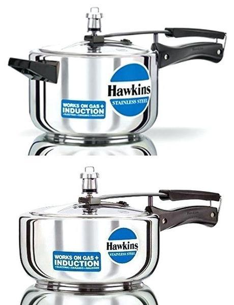 hawkins stainless steel pressure cooker hawkins stainless steel pressure cooker 4 litre