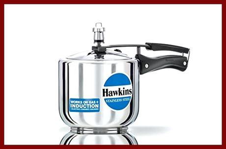 hawkins stainless steel pressure cooker hawkins stainless steel contura pressure cooker 5 litres