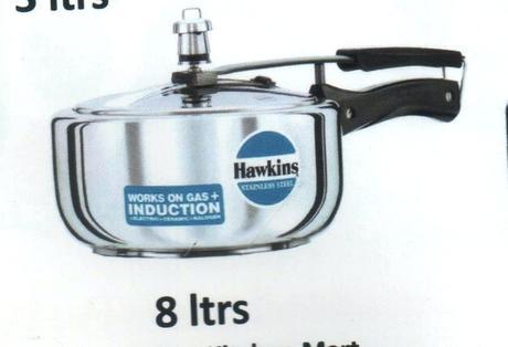 hawkins stainless steel pressure cooker hawkins stainless steel pressure cooker 5 litres india