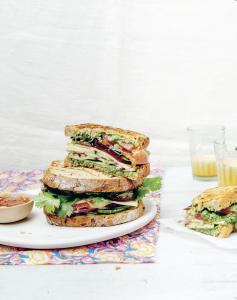Bombay sandwich {Club-sandwichs végétariens ♥}