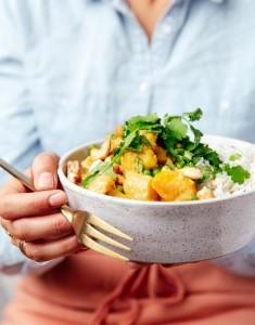 Curry de légumes express {Extrait de mon livre Bollywood Kitchen Oct 2018 ♥ }