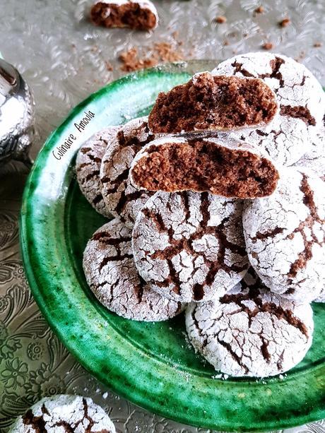 Ghriba au biscuit et à la noix de coco