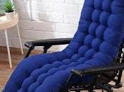 coussins chaise longue