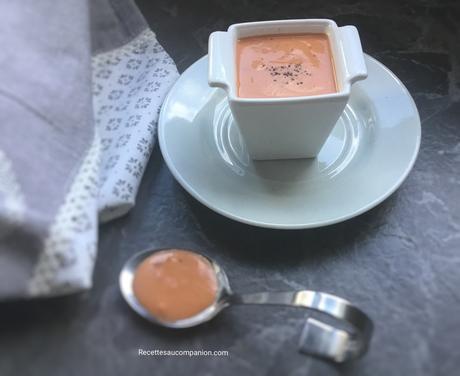 Sauce aurore facile au companion thermomix ou sans robot
