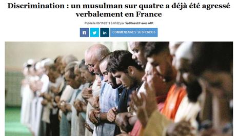 Réalité du racisme envers les musulman.e.s, ravages de l'amalgame terroriste… (l'#Islamophobie n'existe pas, suite mais pas fin)