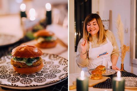 Food – Réaliser un burger végétarien & découverte de bofrost