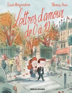 Lettres d'amour de 0 à 10 de Susie Morgenstern et Thomas Baas