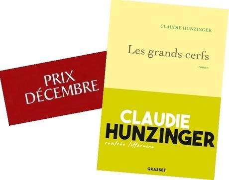 Le prix Décembre 2019 pour Claudie Hunzinger
