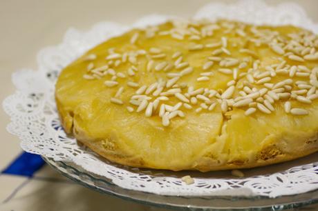 Recette tarte pâtissière à l'ananas