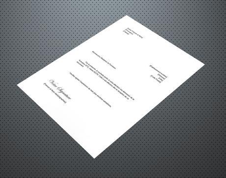 Lettre de démission pour un BTS et un DUT – Lettre de Démission