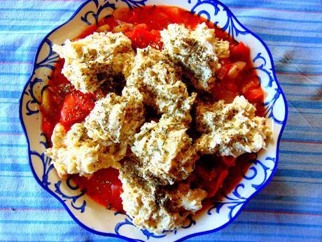 Cobbler de tomates