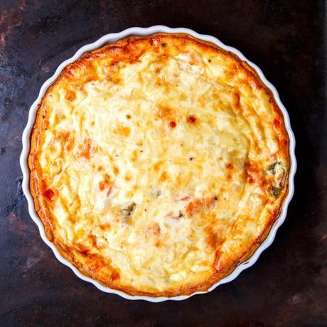 Quiche lorraine fromage