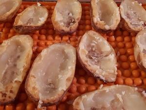 Pommes de terre farcies aux fromages