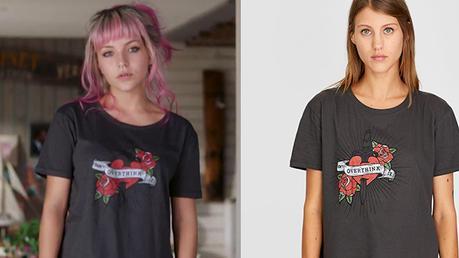 DEMAIN NOUS APPARTIENT : le t-shirt «Don't overthink it» de Judith