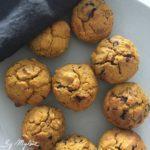 Muffin potiron avec des pépites de chocolat