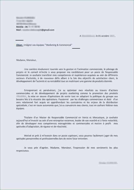 Modèle Lettre De Motivation Emploi Saisonnier Lettre De ...