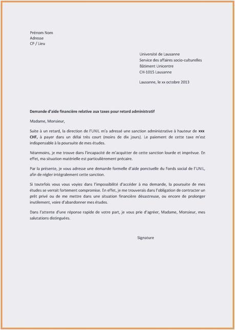 Exemple Type De Lettre De Motivation Pour Un Emploi Nouvelle ...