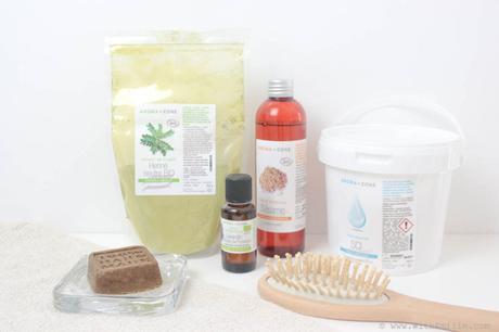 Recette de shampoing-soin solide fait maison au henné neutre