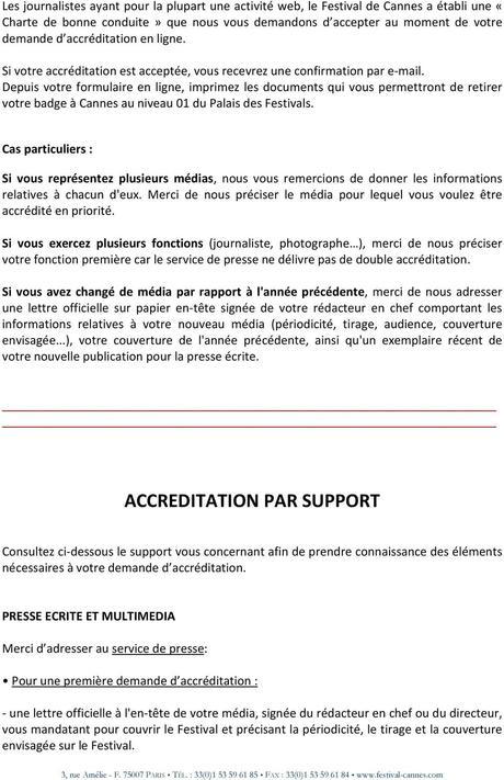 ACCREDITATION PRESSE - PDF