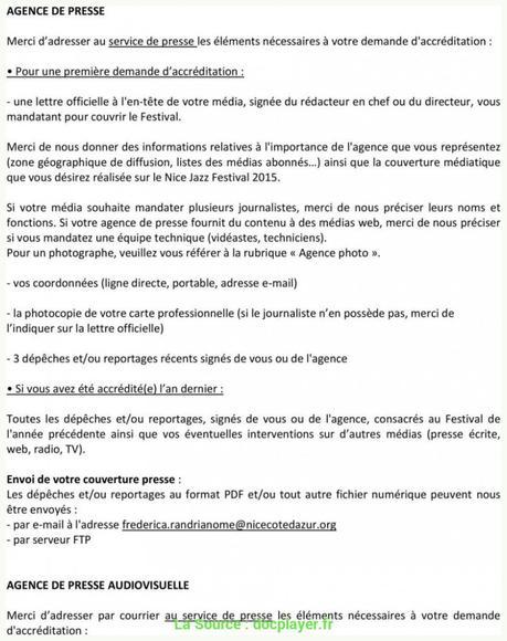 Idéal Lettre De Demande D'Emploi Pour Journaliste ...